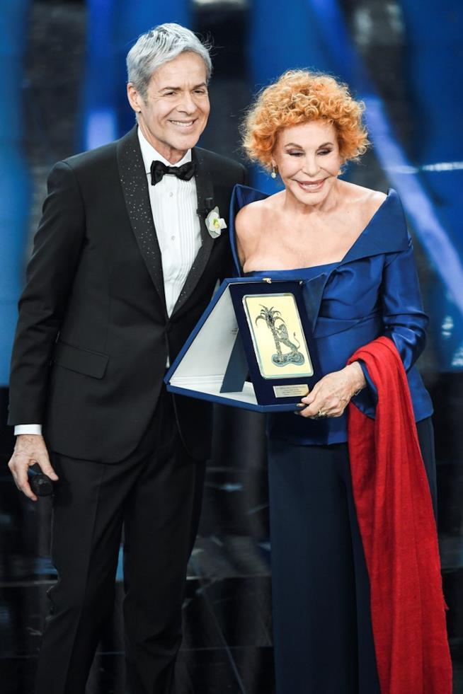 Ornella Vanoni con Claudio Baglioni