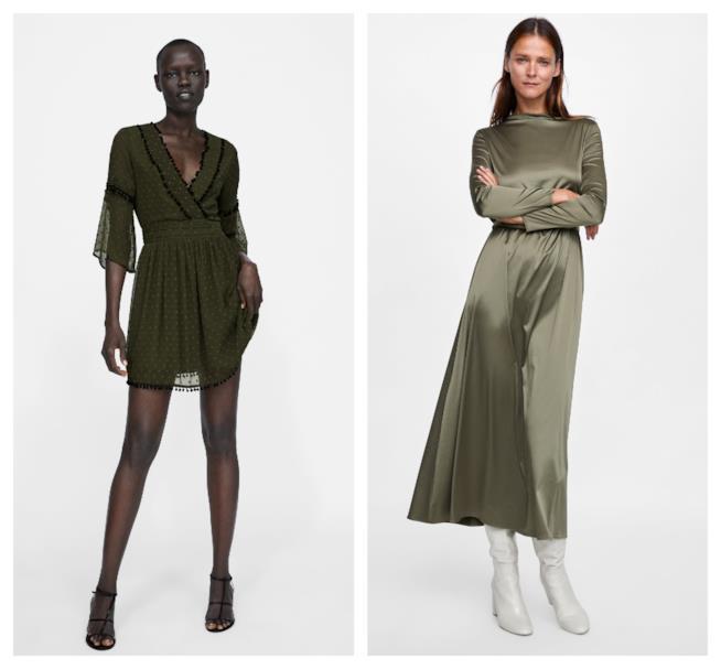 Verde, il colore di moda per l'autunno inverno 2018-19