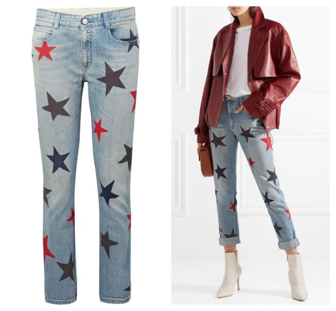 Mom jeans a vita alta di tendenza