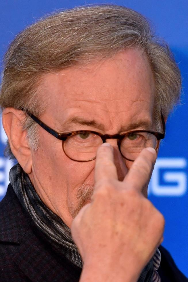 Steven Spielberg in primo piano
