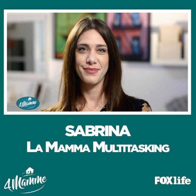 4Mamme Milano, Sabrina la mamma multitasking