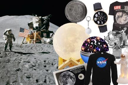 Prodotti a tema sbarco sulla luna