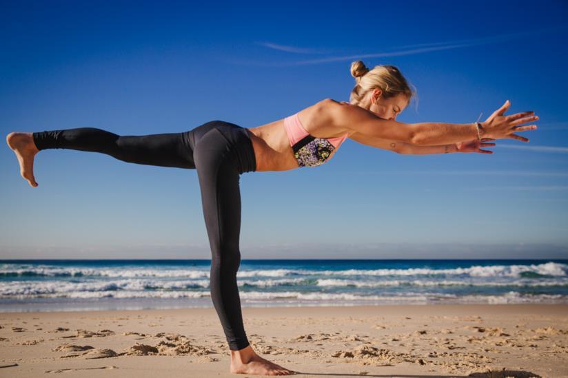 Il guerriero III, l'esecuzione della posizione yoga