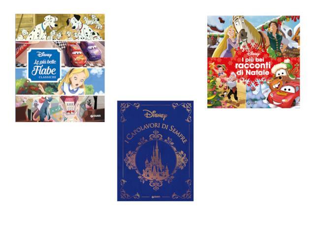 Collage di libri Disney