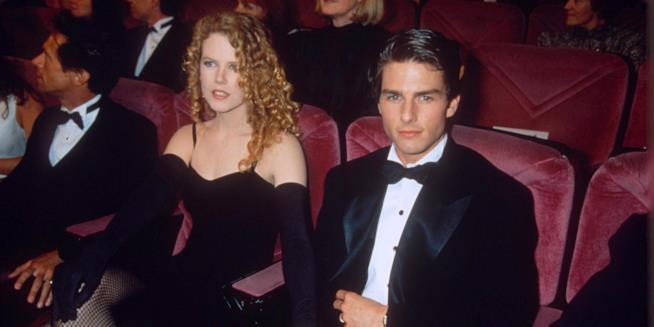 Nicole Kidman con l'ex marito Tom Cruise