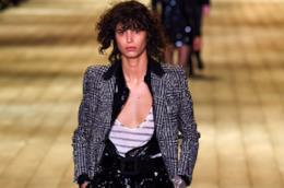 La collezione di Yves Saint Laurent autunno 2018