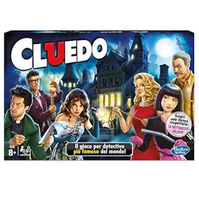 Hasbro Games - Cluedo Gioco di Investigazione