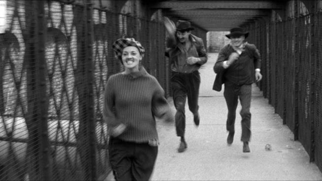 La scena della corsa in Jules et Jim di Francois Truffaut