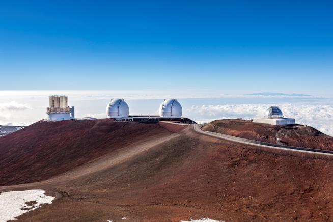 L'osservatorio di Mauna Kea
