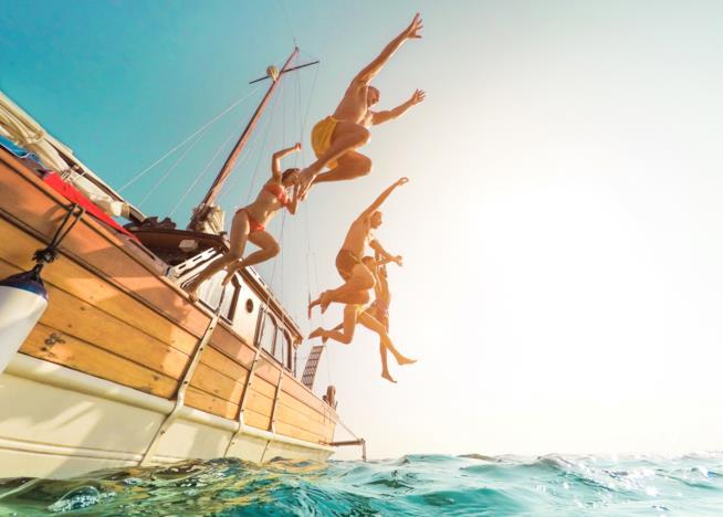 Salto in mare