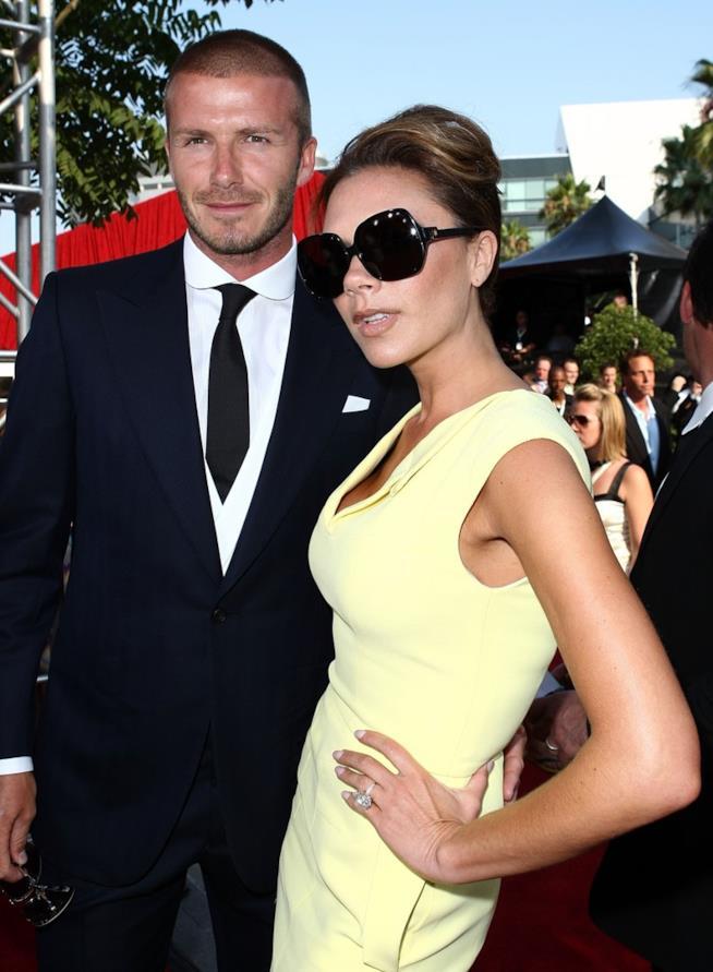 David Beckham e Victoria sul tappeto rosso