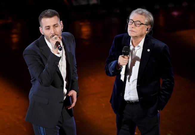 Nino D'Angelo e Livio Cori – Un'altra luce - Sanremo Day3