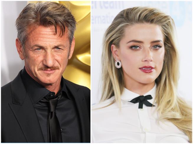 Sean Penn e Amber Heard