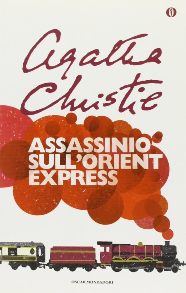 La copertina del libro Assassinio sull'Orient Express