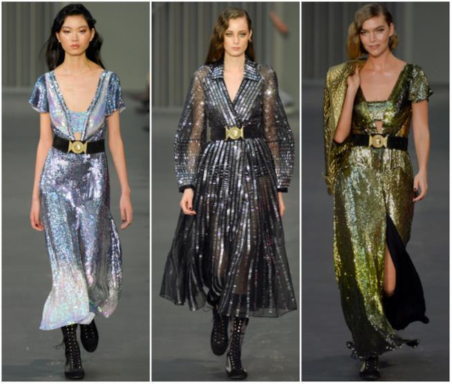 Tre abiti Temperley alla London Fashion Week 2018