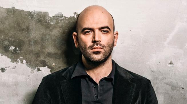 Lo scrittore Roberto Saviano