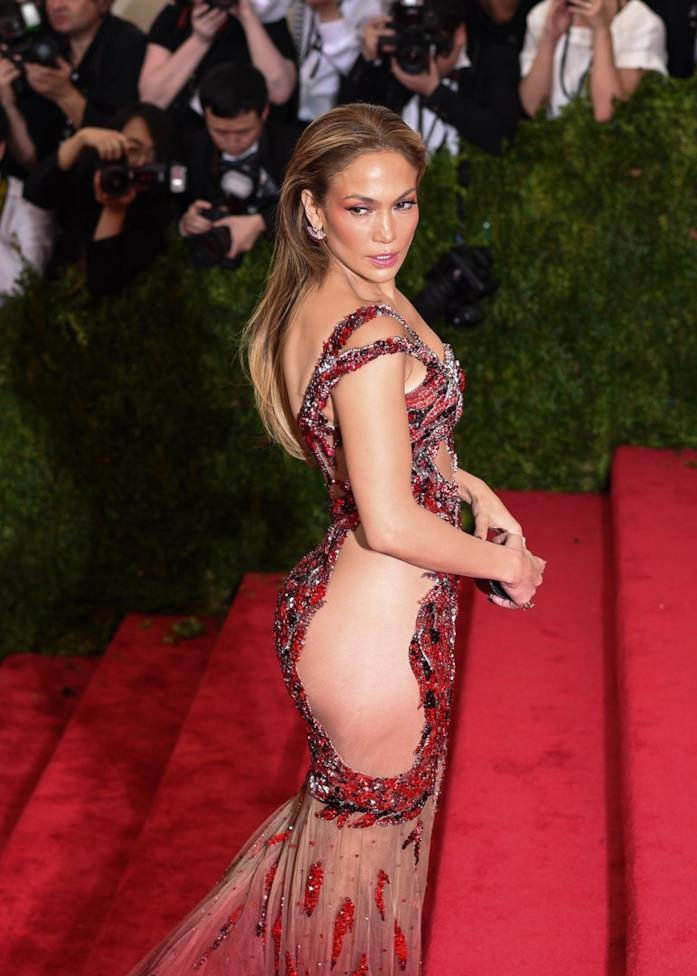 Jennifer Lopez sul red carpet