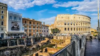 Roma in una giornata di sole
