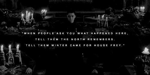 Arya se ne va dalla casa dei Frey