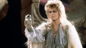 Una scena di Labyrinth con David Bowie