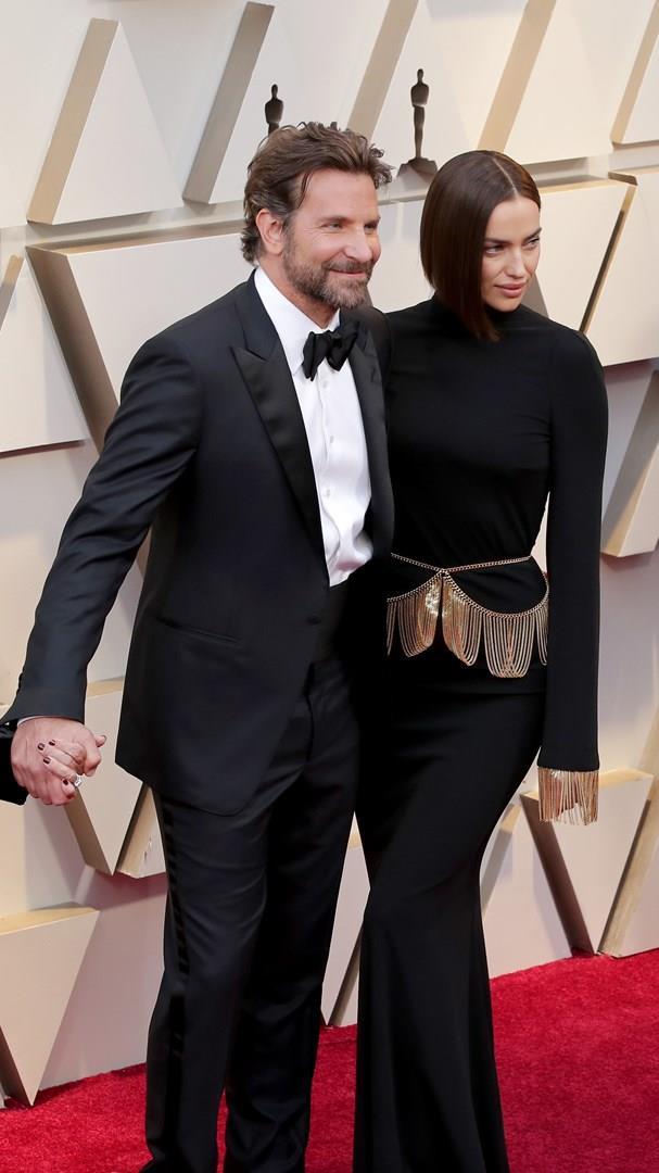 Irina Shayk sul red carpet degli Oscar 2019