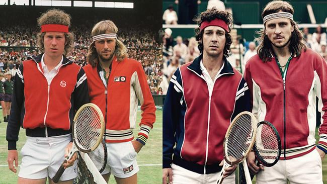 Borg vs McEnroe, i due tennisti e i loro alter ego