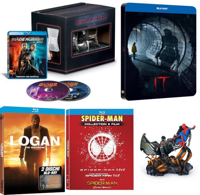 Idee regalo per lui: Blu-Ray da collezione