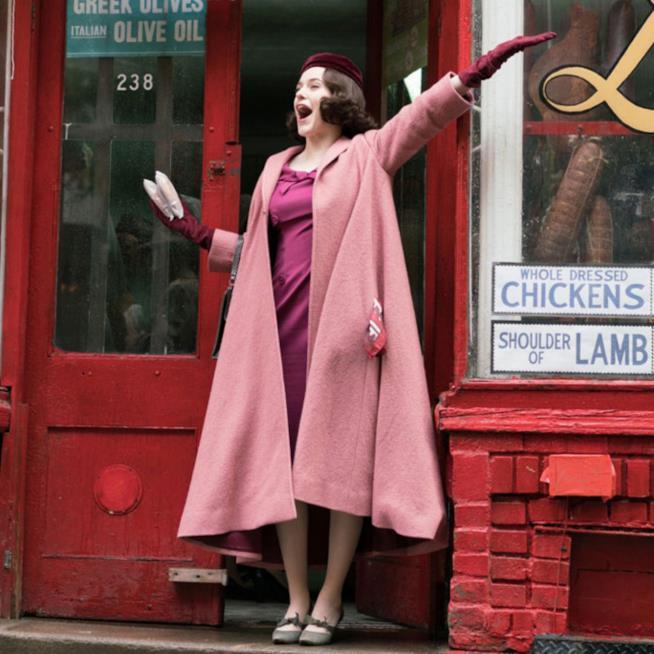 I cappotti retrò di Mrs Maisel