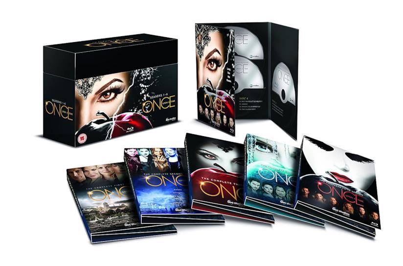 Cofanetto DVD di Once Upon a Time - Seasons 1-6