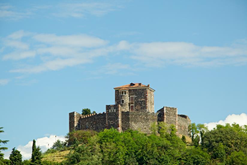 Vista della Rocca di Arzignano