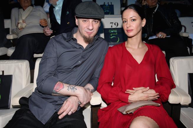 J-Ax e la moglie Elaina Coker