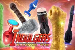 Indulgers,i sex toys degli Avengers