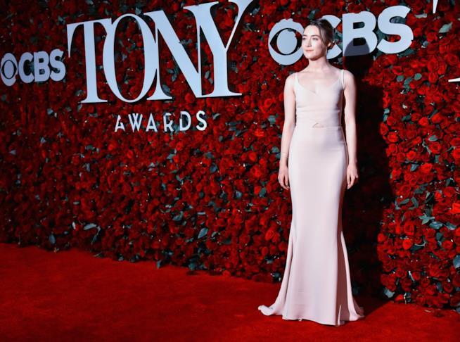 L'attrice Saoirse Ronan
