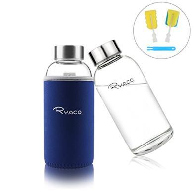 Bottiglia d'acqua con guaina