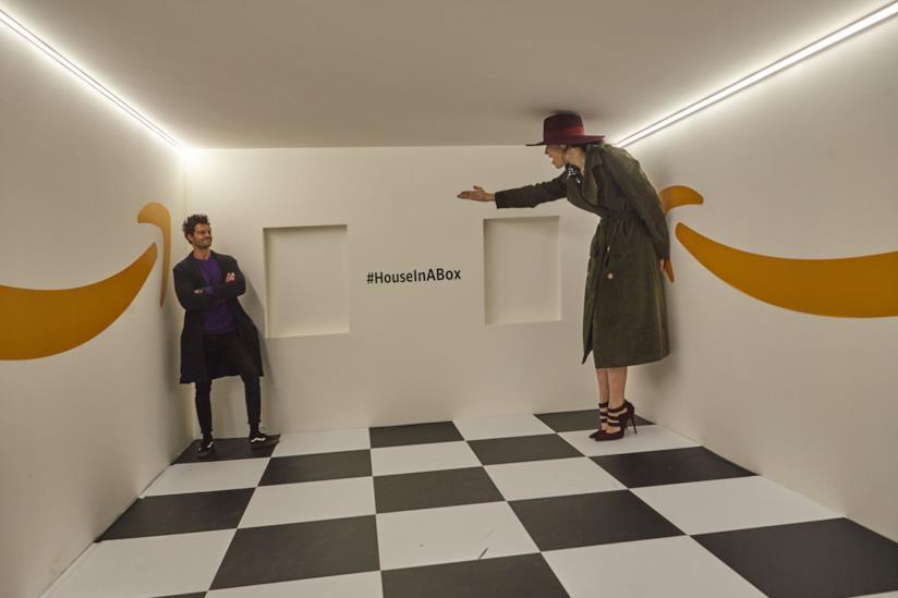 House in Box percorso con illusioni ottiche