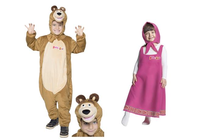 I costumi di Masha e Orso