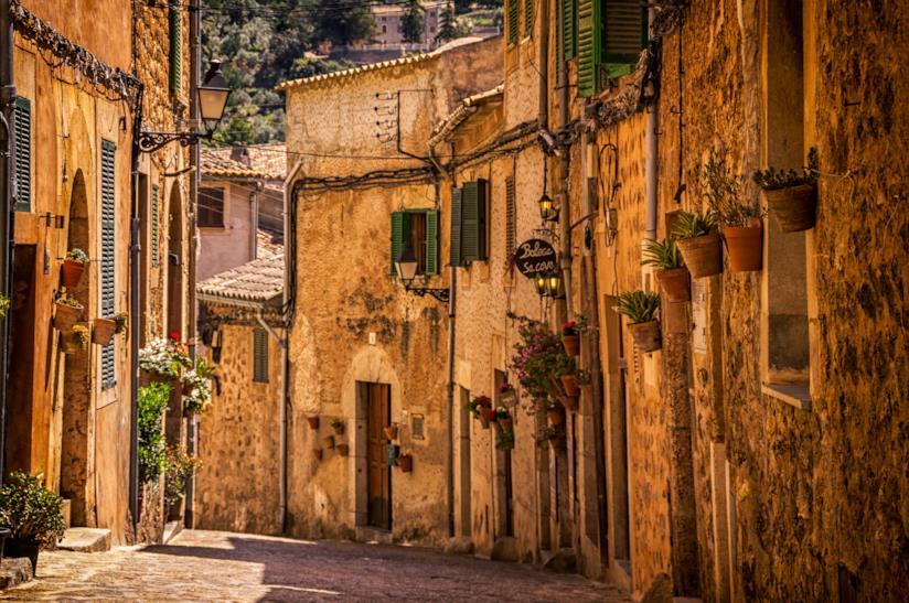Strada di Valldemossa a Maiorca
