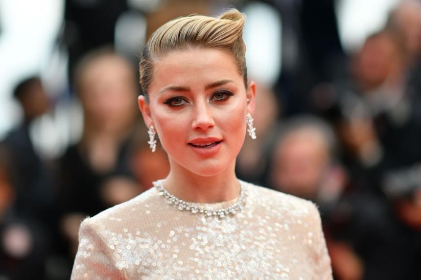 L'attrice Amber Heard