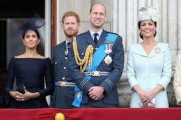 Meghan, Harry, William e Kate