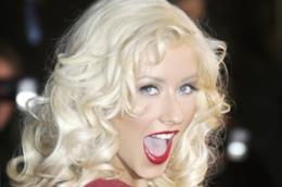 Christina Aguilera in primo piano