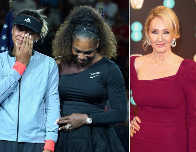 Serena Williams Naomi Osaka J.K. Rowling
