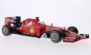 Ferrari SF15di t, No. 5, scuderia, formula 1, 2015, modello di automobile, modello prefabbricato, Bburago 1: 18