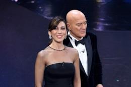 Virginia Raffaele e Claudio Bisio a Sanremo