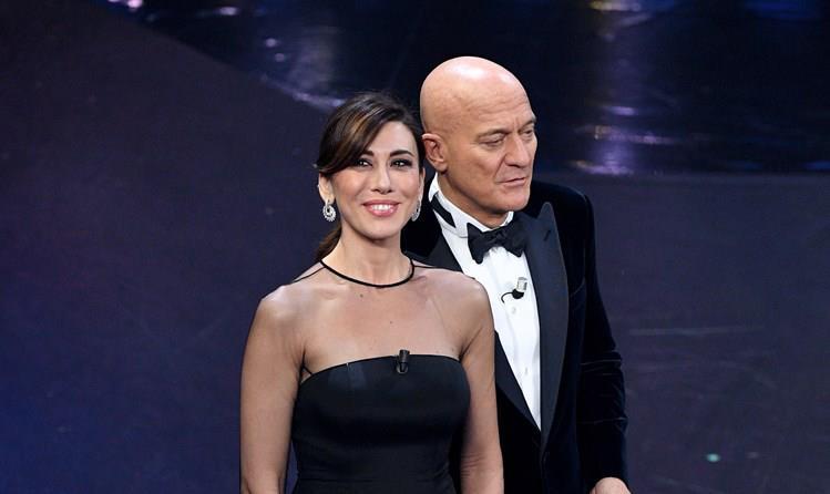 fd7a55d72da7 Virginia Raffaele e Claudio Bisio a Sanremo