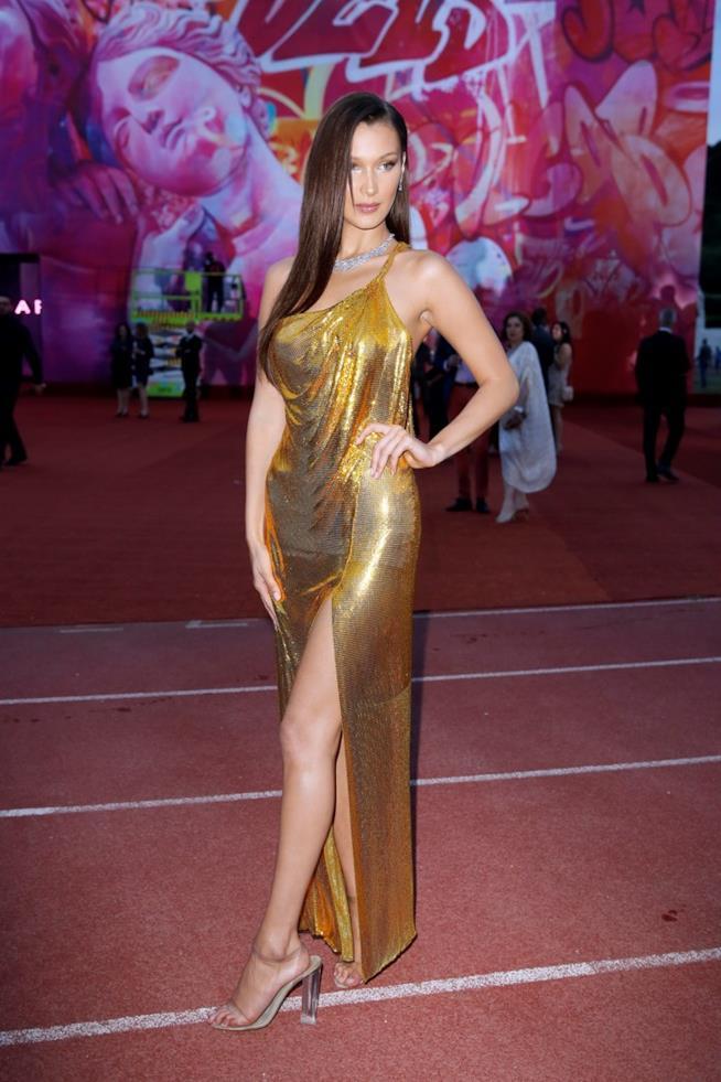 Bella Hadid all'evento Bulgari