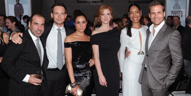 Il cast della serie Suits