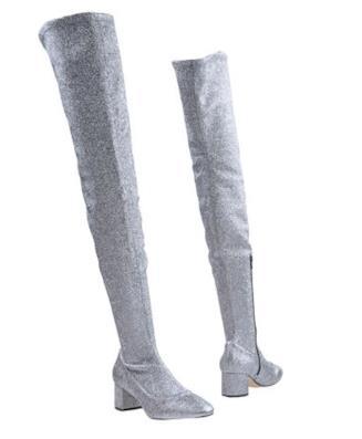 stivali alti sopra il ginocchio crosswalk