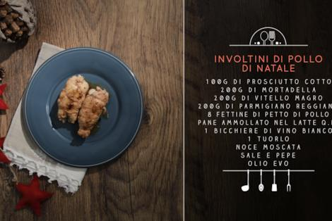 Involtini di pollo ripieni