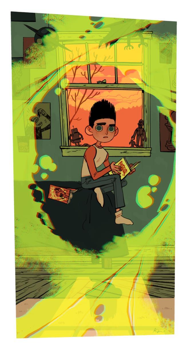Illustrazione di Sara Kipin ispirata a Paranorman