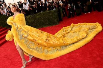 Rihanna al MET Gala